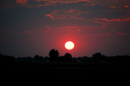 Boise sunset