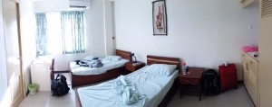 Our room in Manila.